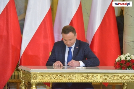 Para Prezydencka na święcie Służby Ochrony Państwa.
