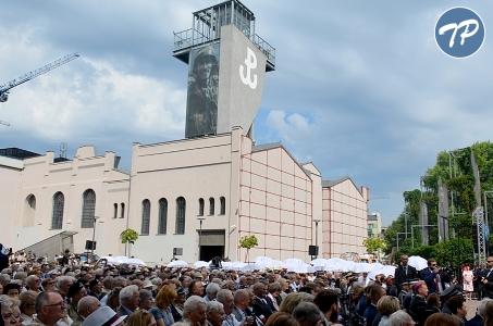Zakończenie obchodów 74. rocznicy Powstania Warszawskiego.