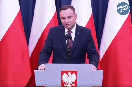 Oświadczenie Prezydenta ws. nowelizacji Kodeksu wyborczego.