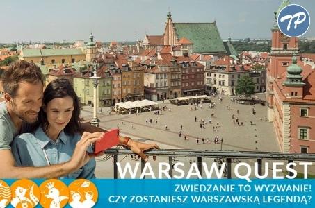 Warsaw Quest. Zwiedzanie to wyzwanie!