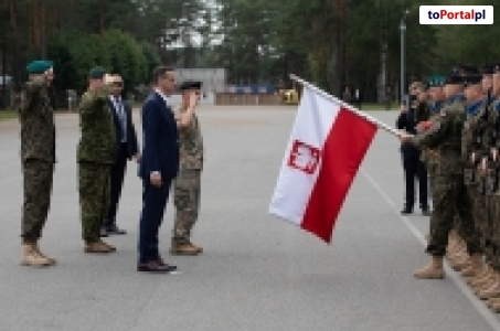 Wizyta premiera Mateusza Morawieckiego na Łotwie.