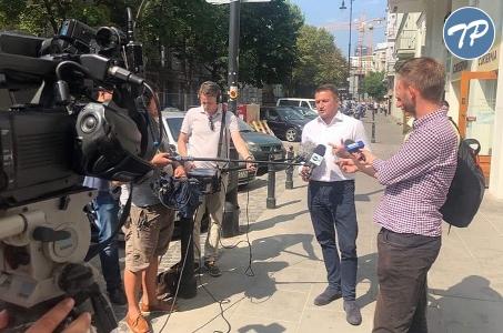 Komunikat po konferencji prasowej kandydata na Prezydenta Warszawy - Piotra Guziała.