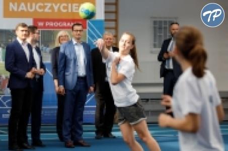 Premier Mateusz Morawiecki o rządowym programie Szkolny Klub Sportowy.