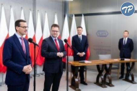 Premier Mateusz Morawiecki o rządowych inwestycjach kolejowych.