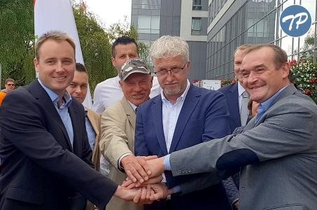 Spotkanie Akcji Warszawa z mieszkańcami Ursynowa.