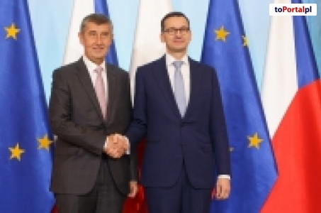 Spotkanie premierów Polski i Czech.