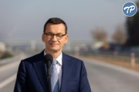 Premier Mateusz Morawiecki o inwestycjach w drogi lokalne.