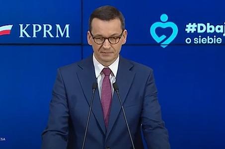 Mateusz Morawiecki:  Od soboty zdejmujemy ograniczenia w handlu.