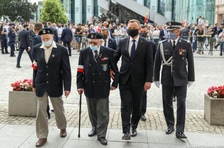 Rozpoczęły się obchody 76. rocznicy Powstania Warszawskiego.